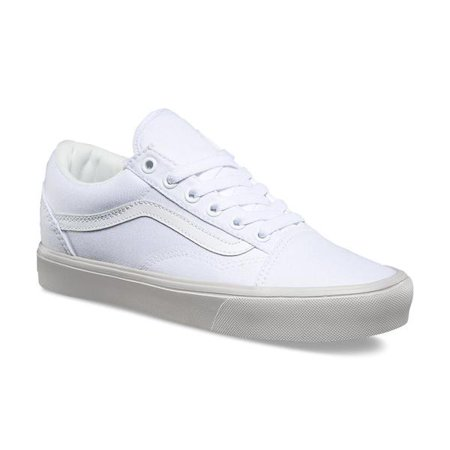 e63f5fb6fd6069 Vans - Vans Old Skool Lite Pastel Pop True White Men s Classic Skate Shoes  Size 8.5 - Walmart.com