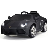 Gymax 12V Lamborghini Aventador Licensed Electric Kids Ride On Car RC w/Lights & Music