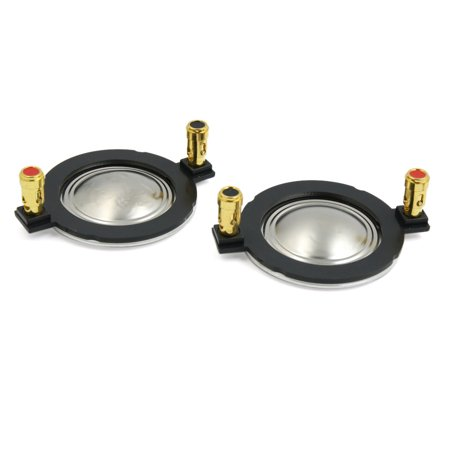Universal Dome - 2pcs 34.4mm Universal Motorcycle Dome Tweeter Diagram Speaker Voice Coil