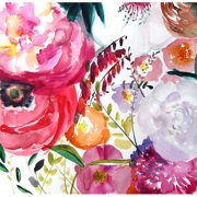 Mai Autumn Bloom by Christine Lindstrom Painting Print