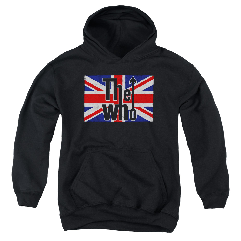 The Who Flag Logo Big Boys Pullover Hoodie