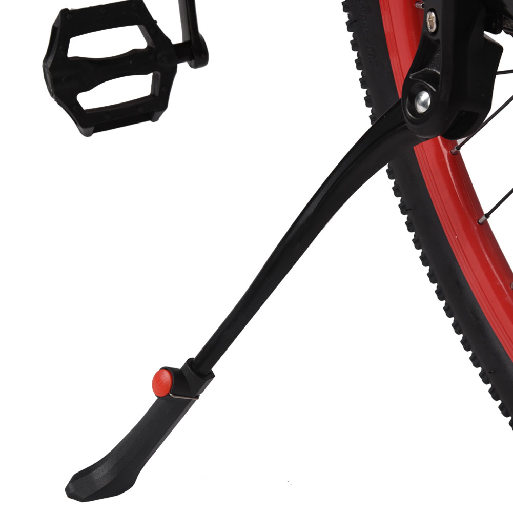 Yosoo Aluminium Alloy Adjustable Bike Kickstand Side Stand Accessory for 22-28inch Wheel, Bike Kick Stand, Bike Slide Stick