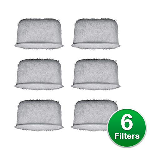 Replacement Coffee Water Filter for Braun BRSC004 (6 Filters)
