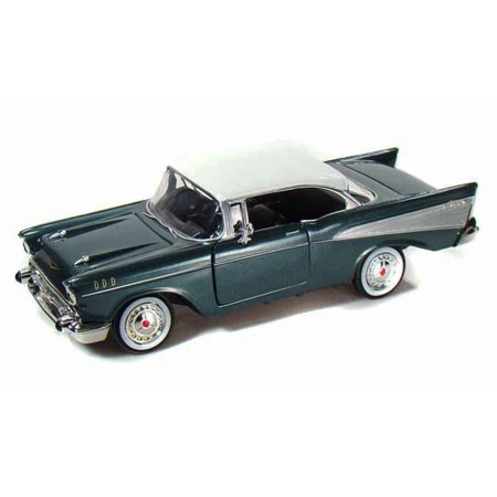 1957 Chevy Bel Air, Green - Showcasts 73228 - 1/24 scale Diecast Model Toy Car