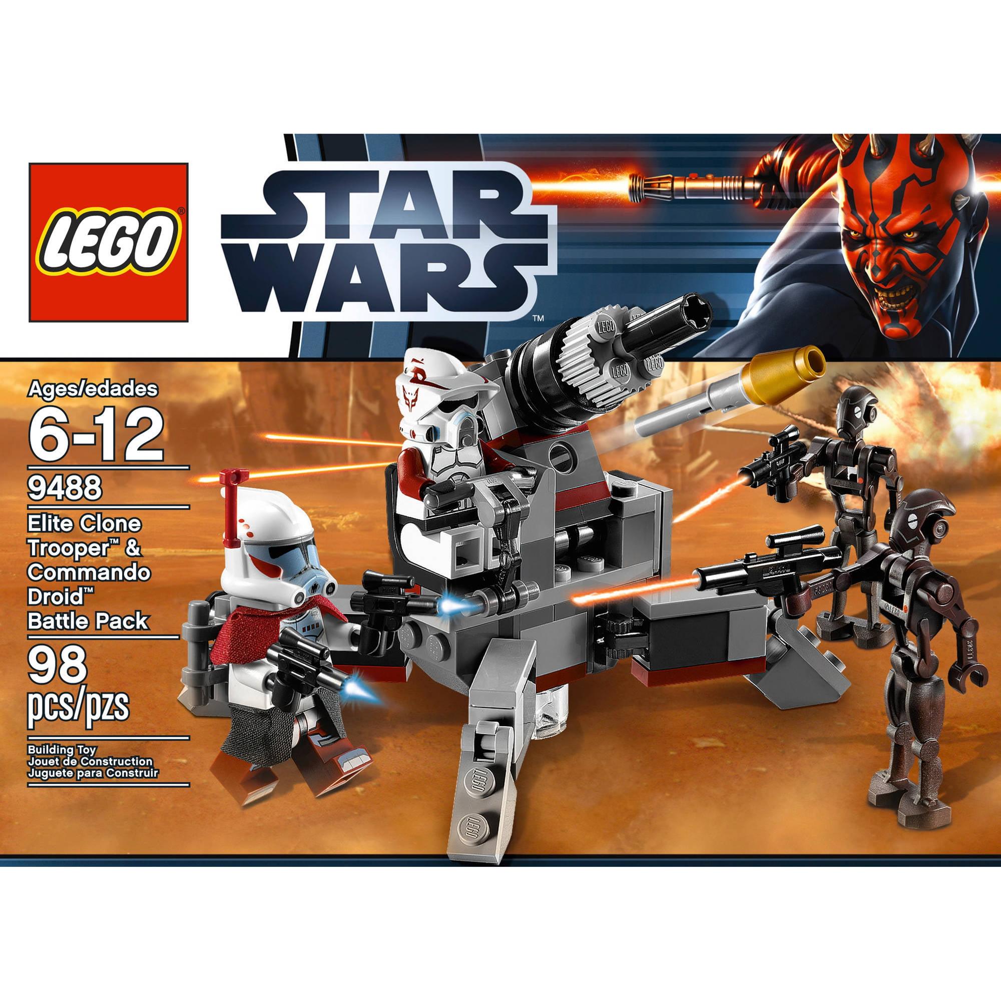 LEGO Star Wars Elite Clone Troopers and Commando Droid B - Walmart.com a51b42daee