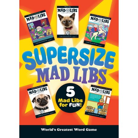Supersize Mad Libs - Bridal Mad Libs