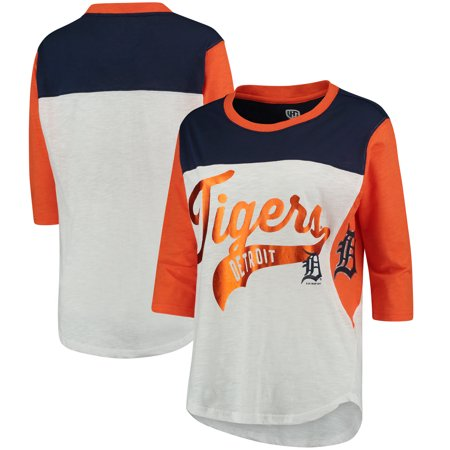 Detroit Tigers Hands High Women's Season's Pass 3/4 Sleeve T-Shirt -