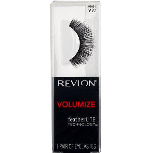 Revlon Volumize False Eyelashes, 91091 V92, 1 pr