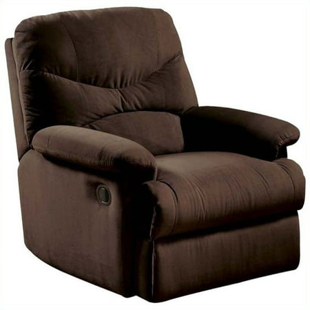 - Kingfisher Lane Recliner in Chocolate and Brown