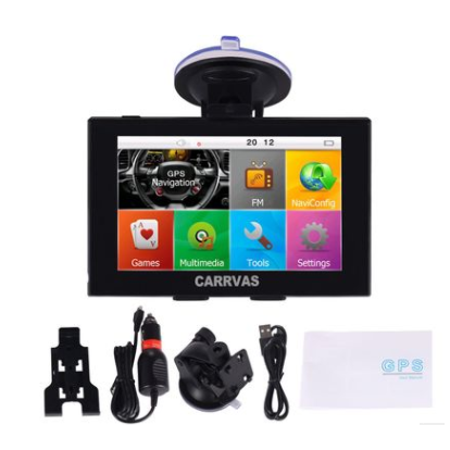 NEW 5 inch GPS Navigation WIFI Android system Dual Map 3D Voice Broadcast Capacitive screen Resolution 800*480 - image 9 de 10