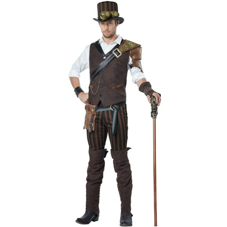 Male Steampunk Costumes (Steampunk Adventurer Adult)