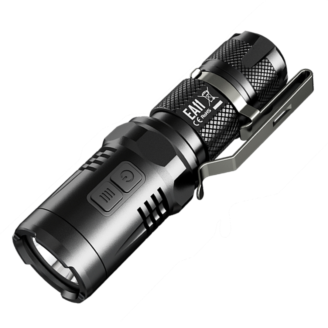 NITECORE EA11 Explorer Series 900 Lumen Mini EDC Flashlight - 1xAA