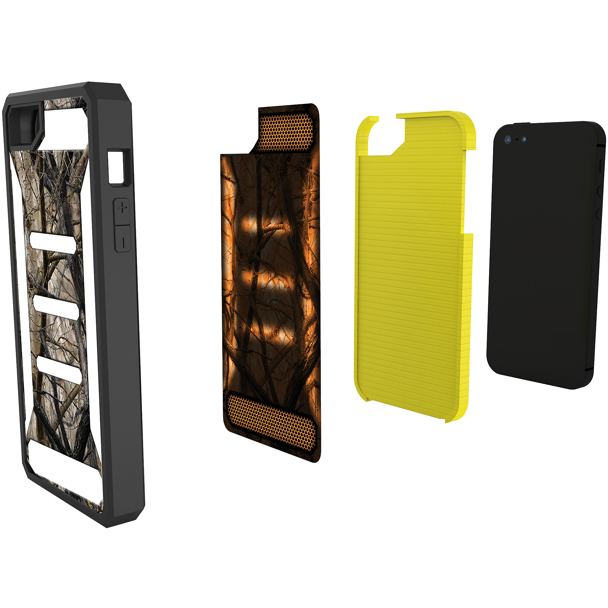 Impact Gel Case for Apple iPhone 4, Camouflage/Pink Camouflage