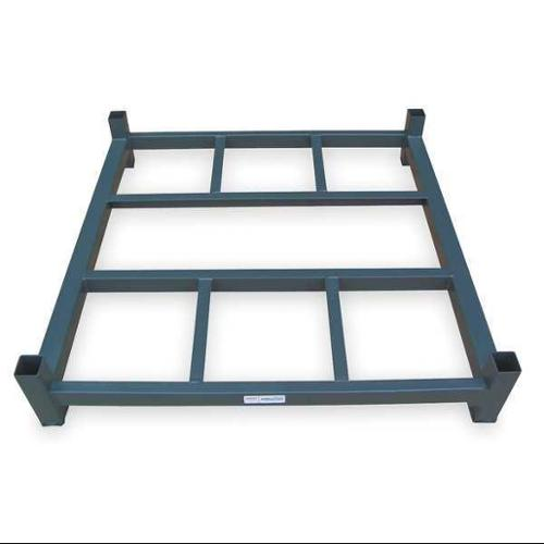 JARKE BB-2-4848H Stack Rack Base, Open, 48x48 in., 2000 lb.