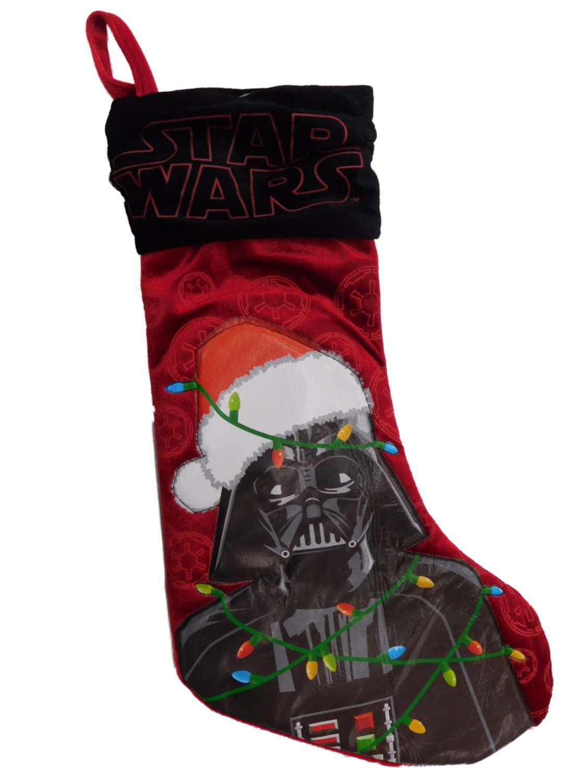 Christmas Stocking made with Darth Vader  Star Wars Fabric