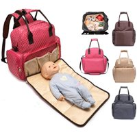 aea382a0b7 Product Image FancyNova All-in-One Diaper Bag Backpack Multifunction  Waterproof Baby Nappy Bag for Mom