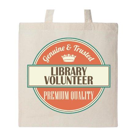 Library Volunteer Funny Gift Idea Tote Bag - Volunteer Appreciation Gift Ideas