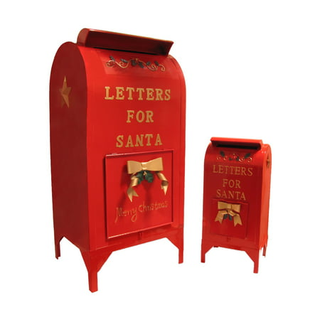 large letters for santa mailbox indoor outdoor christmas decoration home decor - Walmart Christmas Decorations Indoor