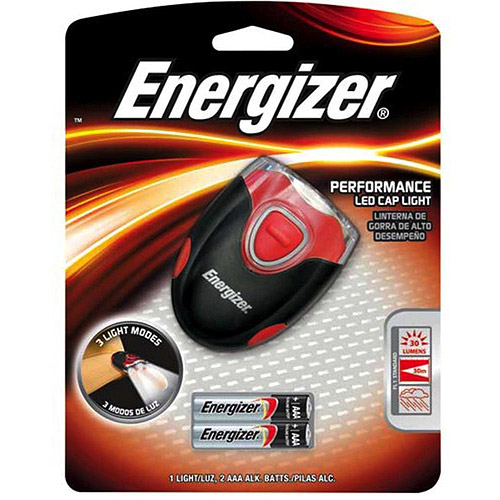 Energizer Performance LED Cap Light, 30 Lumens
