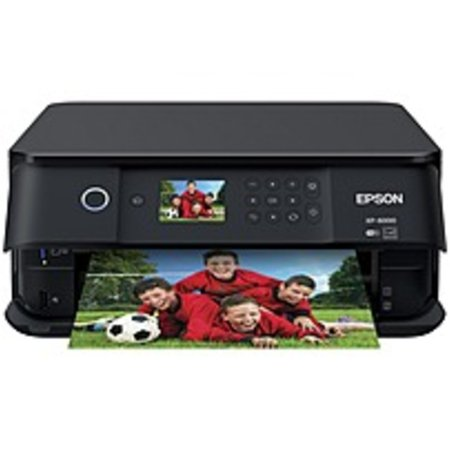 Epson Expression Premium XP-6000 Inkjet Multifunction Printer - Color - Copier/Printer/Scanner - 32 ppm Mono/32 ppm Color Print - 5760 x 1440 dpi Print - Automatic Duplex Print - 1200