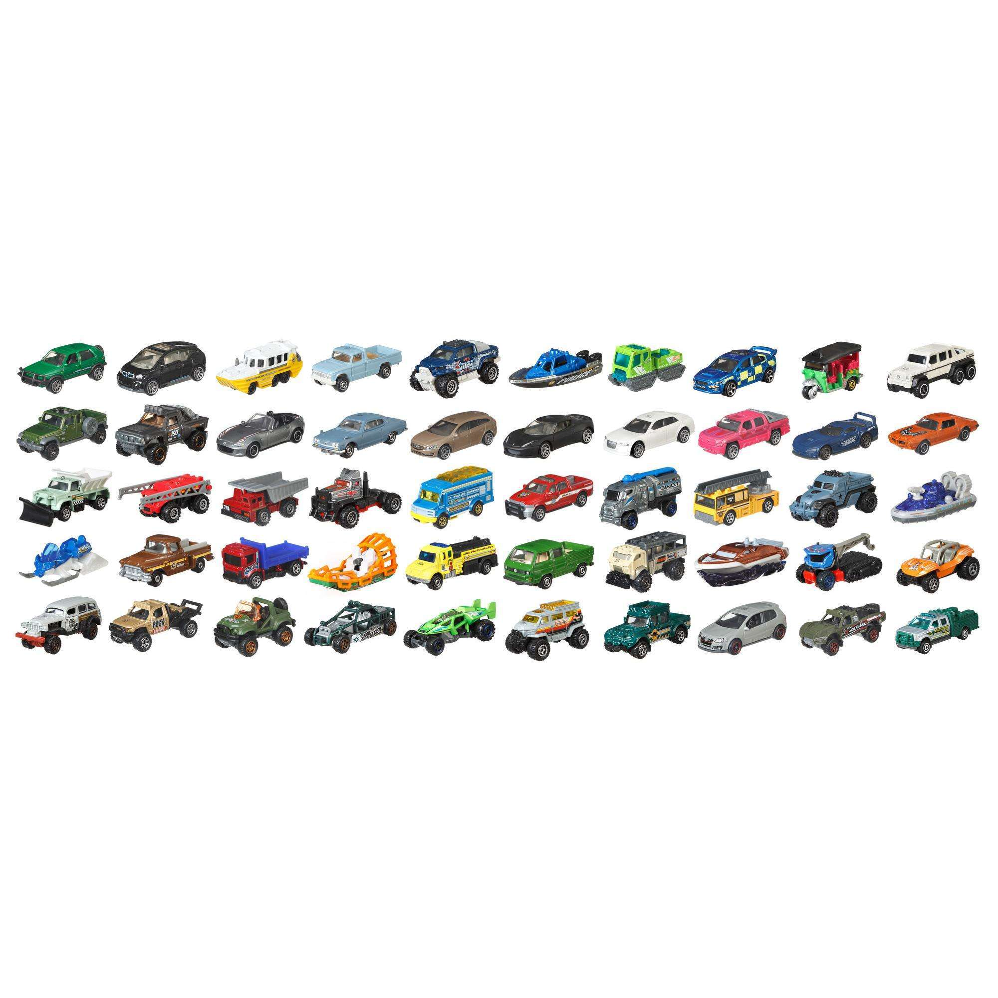 Matchbox 50 Car Pack by Mattel