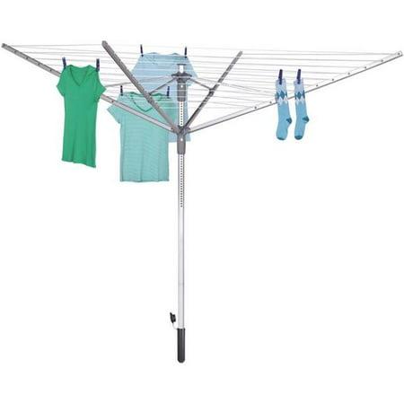 Profoto Silver Umbrella (192 ft. Umbrella Clothesline Outdoor Dryer. Silver)