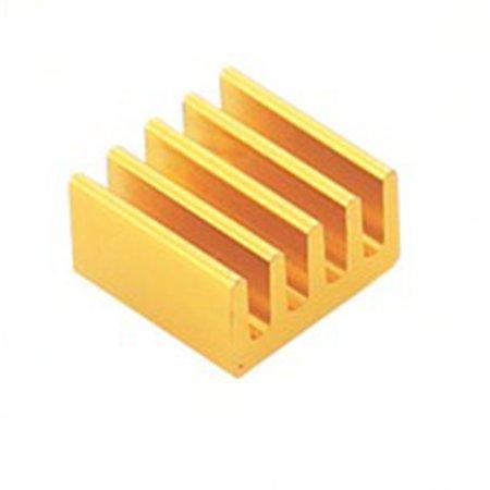 For Raspberry Pi 4 Model B Heat Sink Raspberry Pi Copper Cooling Pad Heatsink - image 3 of 7