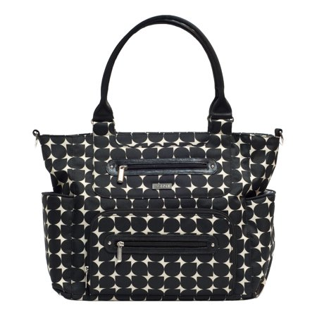 - JJ COLE Caprice Diaper Bag - Silver Drop