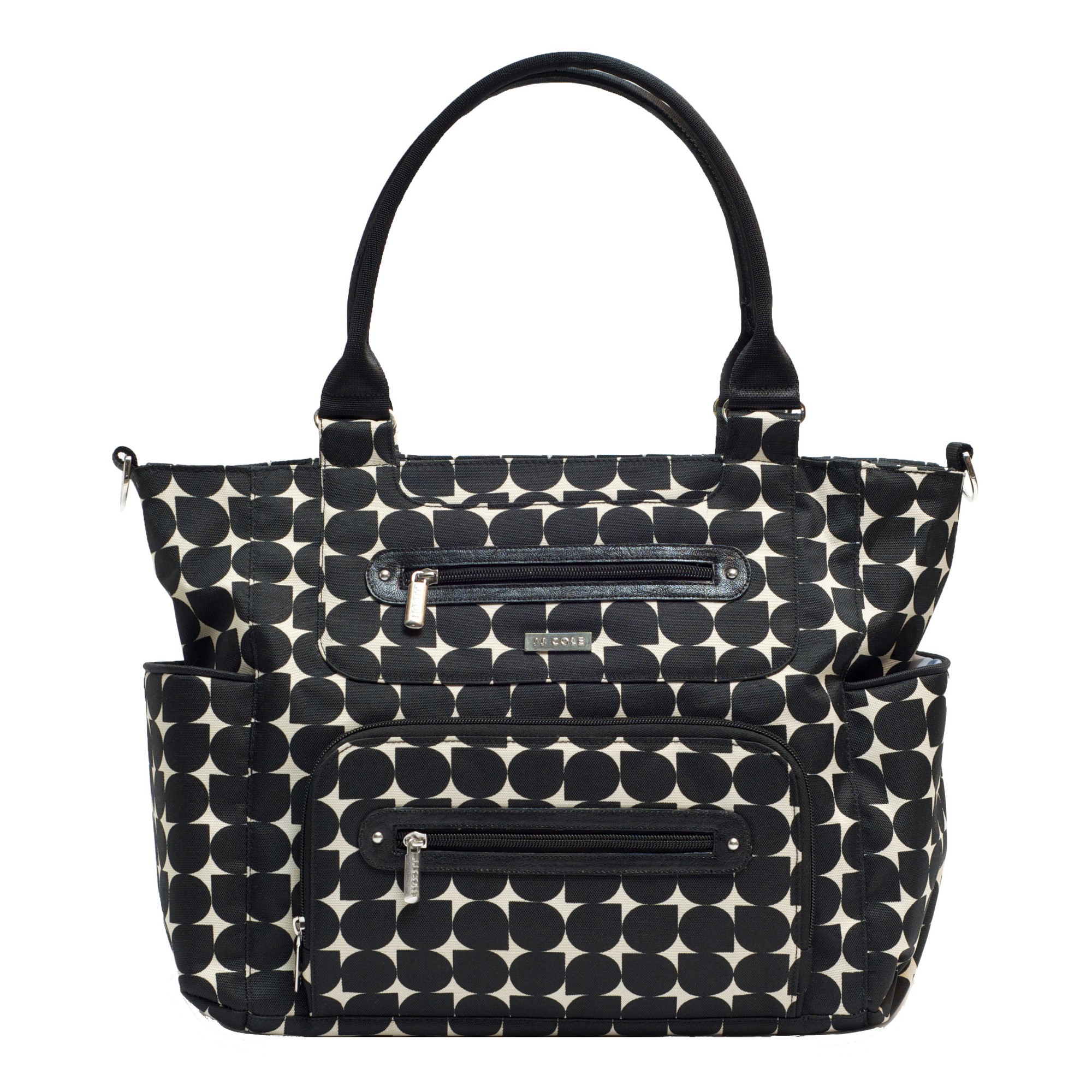 JJ COLE Caprice Diaper Bag - Silver Drop