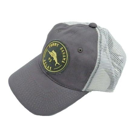 Tommy Bahama Men's Mesh Back Grey Patch Ball Cap