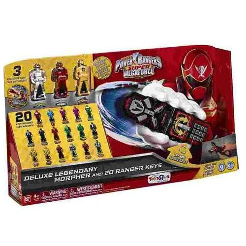 Power Rangers Super Megaforce Deluxe Legendary Morpher And 20 Ranger Keys by