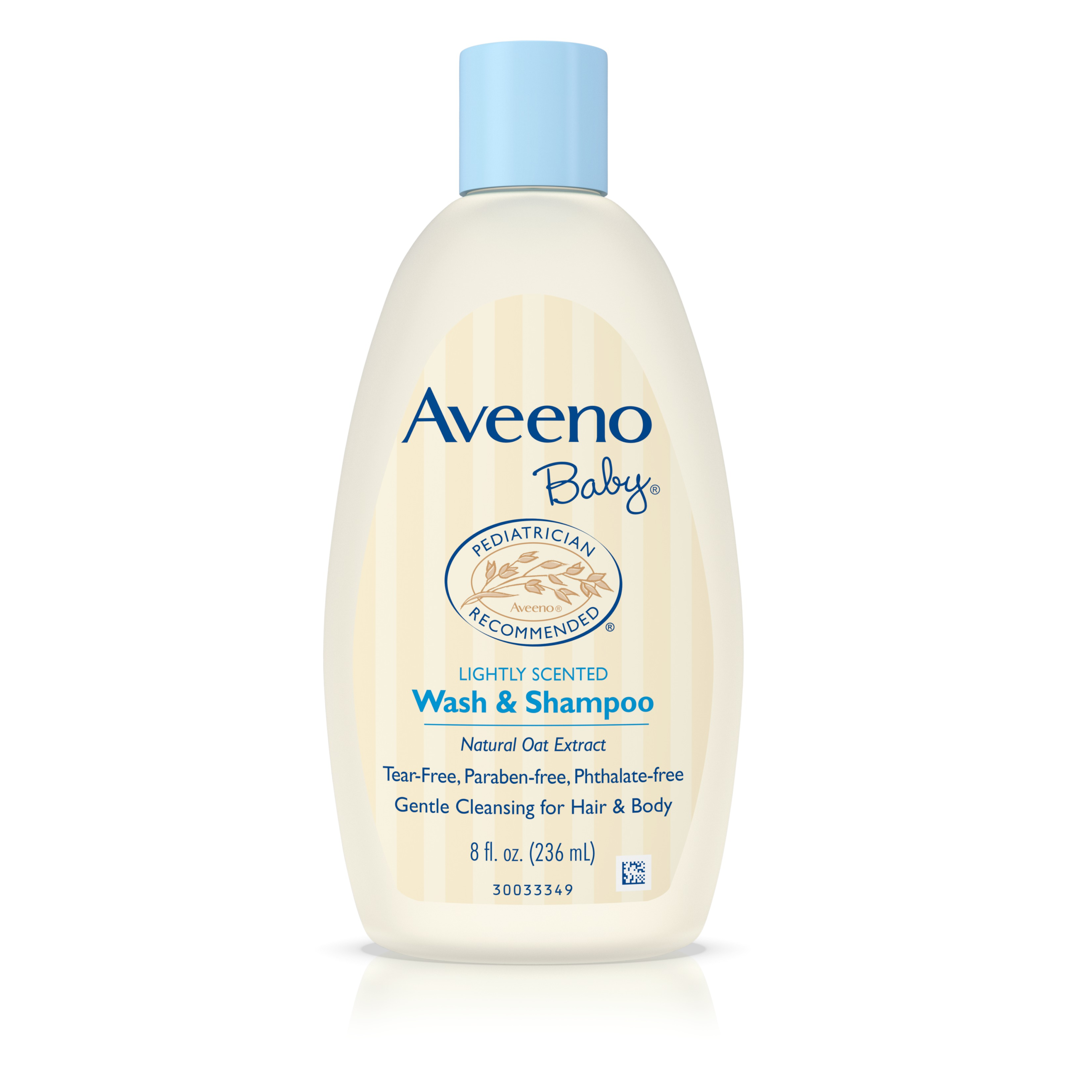 Aveeno Baby Wash & Shampoo For Hair & Body, Tear-Free, 8 Oz. - Walmart.com