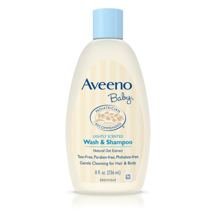 Aveeno Baby Wash   Shampoo For Hair   Body  Tear Free  8 Fl  Oz