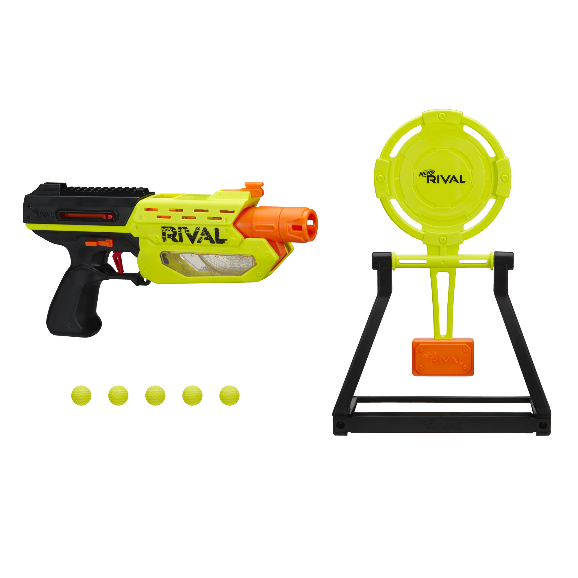 Nerf Rival Mercury XIX-500 Edge Series Blaster with Target and 5 Rounds