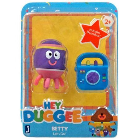 Hey Duggee Betty Let's Go Figure - Hey Arnold Toys