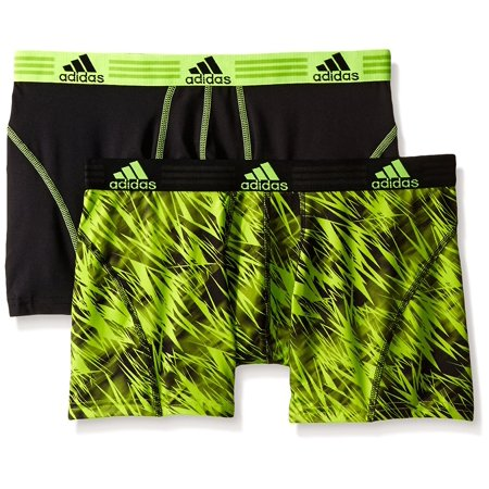 712ed28ec27a adidas - Adidas Men s Performance Climalite Trunk Underwear (2-Pack) -  Walmart.com