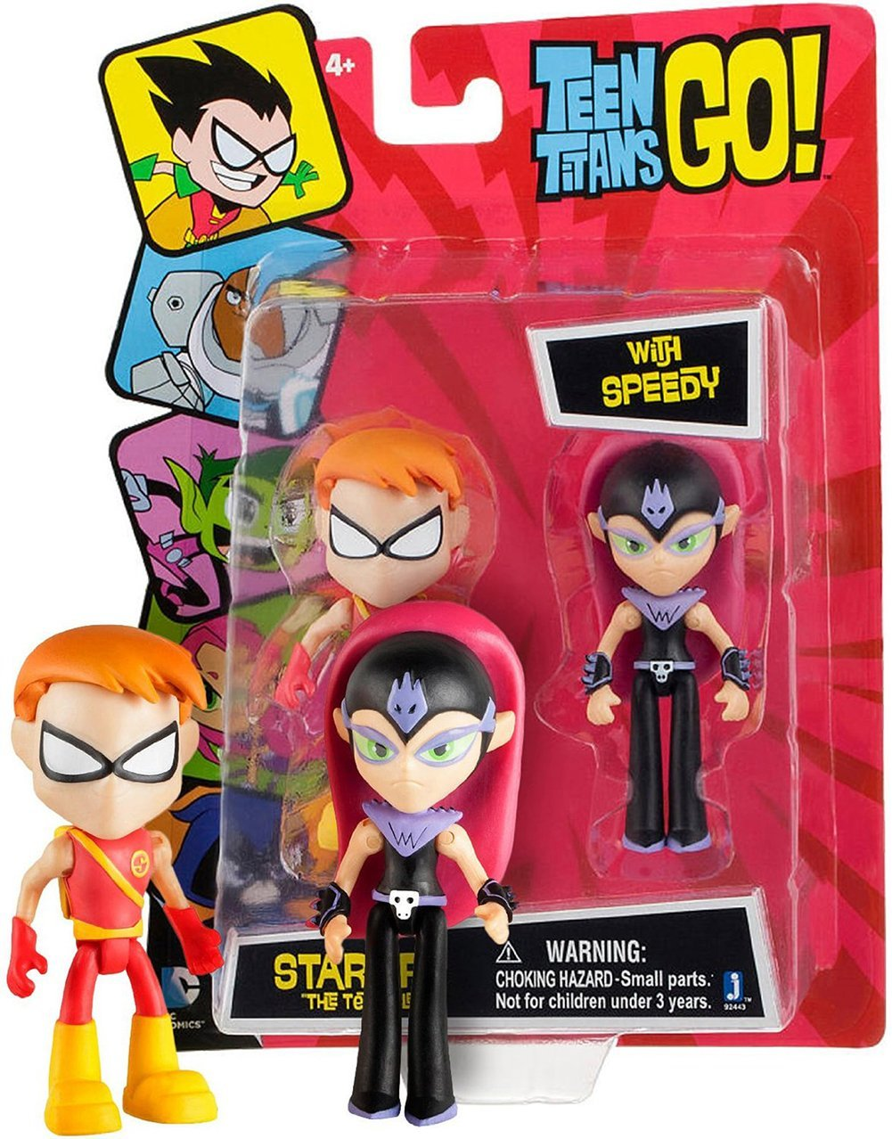 "Teen Titans Go Starfire ""The Terrible"" with Speedy, Starfire the Terrible and Speedy action figure... by"