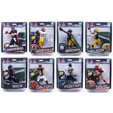 McFarlane NFL Series 32 Assorted Sealed Case of 8 Figures
