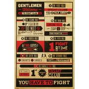 Fight Club - Domestic Poster
