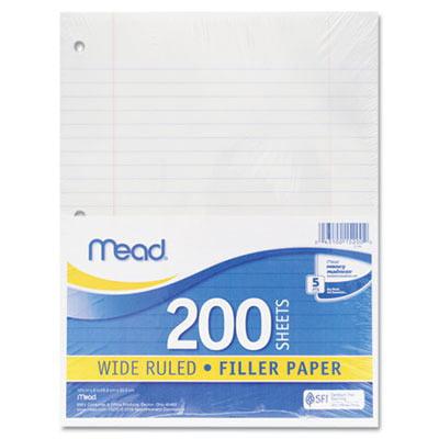 Filler Paper SCBMEA15200-12 (pack of 12)