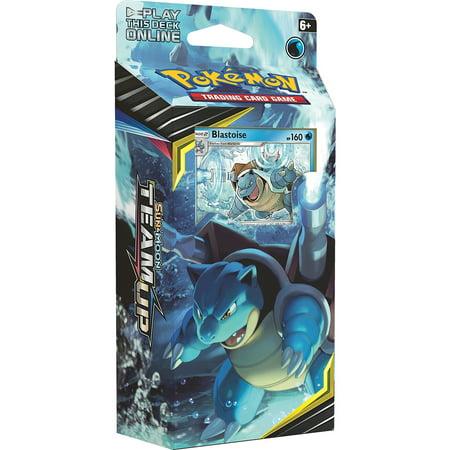 Pokemon Team Up Deck- Sun & Moon 9- Blastoise TAG Team Torrential Cannon Team Up Theme