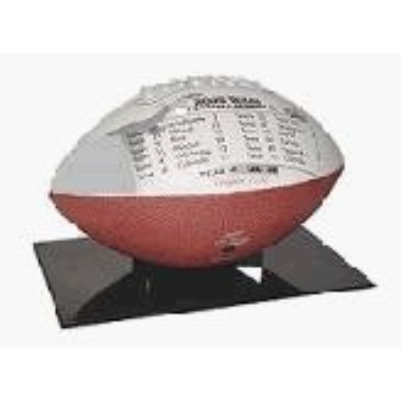 BCW BQ-FH-STAND-BLK Ballqube The Stand Football Display