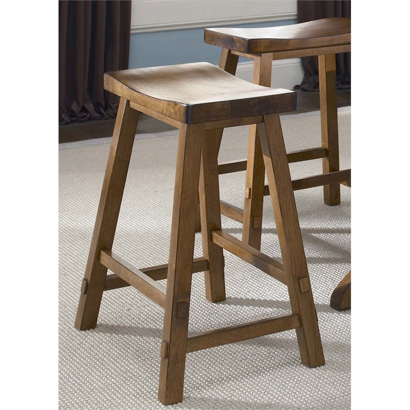 Liberty Furniture Creations Ii 24 Quot Sawhorse Counter Stool