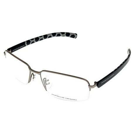 Porsche Design Prescription Eye wear Frames Blue Semi Rimless (Porsche Eye Frames)