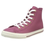 Converse Womens CT Hi Hight Top Lace Up Fashion Sneakers, Gold, Size 5.0