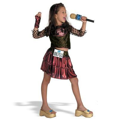 Child American Idol Deluxe CostumeNew Orleans Audition Small - Nueva Orleans Halloween