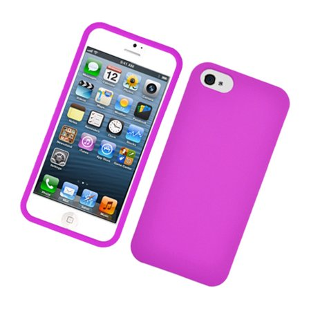 Insten Hard Rubber Cover Case For Apple iPhone 5S 5