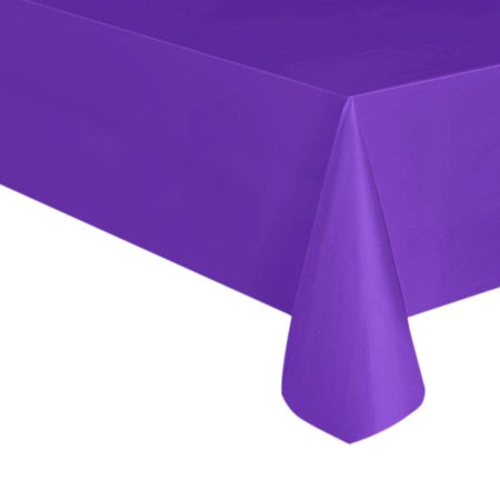 54 X 108 Purple Heavy Duty Table Cover by Paper Mart - Paper Table
