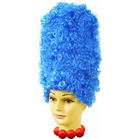 Deluxe Blue Marge Costume Wig (Marge Simpson Wig)