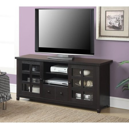 Convenience Concepts Designs2Go Newport Huntington TV Stand for TVs up to (Plateau Newport Series Wood)